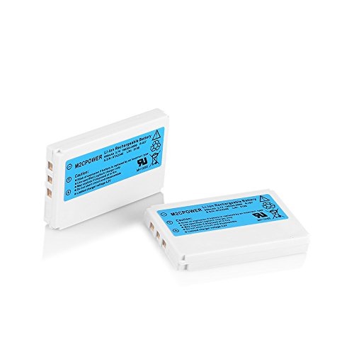M2cpower® Logitech Replacement Li-ion Battery(2 Pack) for Harmony One Remote 880 890 720 900 (LATEST VERSION)