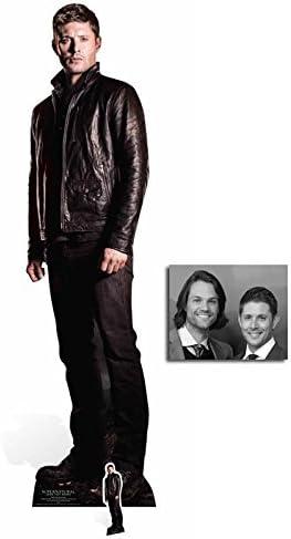 Sam Winchester Supernatural Lebensechte Größe /& Mini Pappfigur//Aufsteller