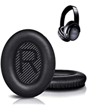 Replacement Ear Pads Compatible with Bose QC35 & QC35ii Headphones Over-Ear Headphones Replacement Ear Cushions Kitfor Bose Quiet Comfort QC 35/25 /15 QC2 /Ae2/Ae2i / Ae2W / Sound Link/Sound True