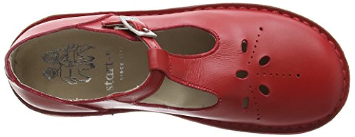 Start-rite Lottie III, Unisex-Kids' Closed Toe Sandals, Red (Red Leather), 4 Child UK (20 EU)