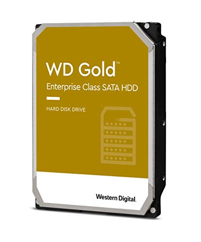 WD Gold 18TB HDD 7200rpm 6Gb/s sATA 512MB Cache 3,5p intern RoHS kompliant Enterprise Bulk WD181KRYZ