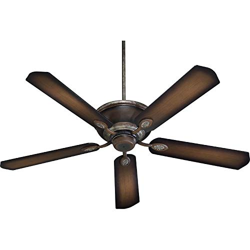 "Quorum International 38605 60"" Indoor Ceiling Fan From The"
