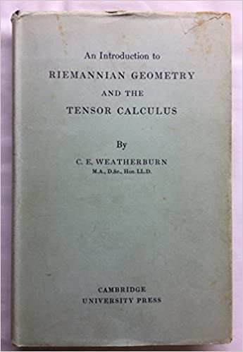 An introduction to Riemannian geometry and the tensor calculus