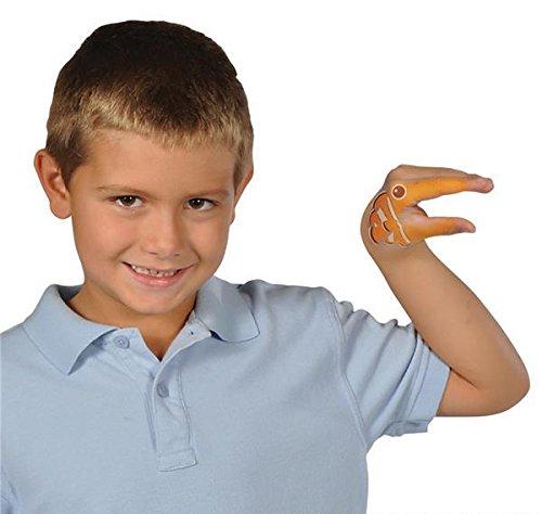 4.5'' AQUATIC HAND TATTOOS, Case of 720