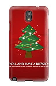 High Quality DofsbZB7432jzxuw Merry Christmas Tree Tpu Case For Galaxy Note 3
