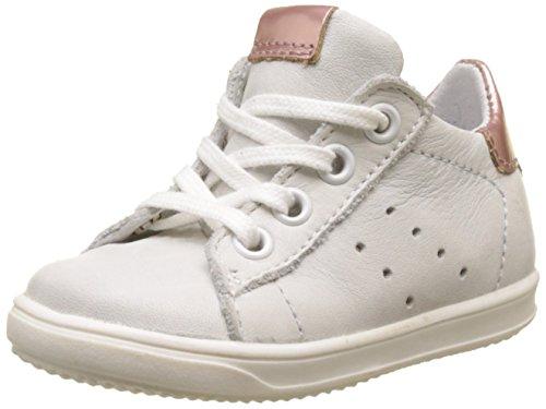Little Mary Dorothe, Zapatillas Para Niñas Blanco (Blanc+eden Nude)