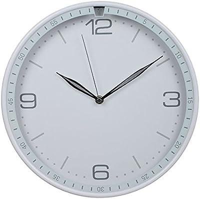 Jedfild 12 inch stylish bedroom living room wall of silence and stylish creative quartz clock Wall Clock, White