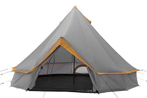 Grand Canyon Indiana – Personen Rundzelt, Tipi, Pyramidenzelt für Gruppen, Camping, Outdoor, Glamping Größen