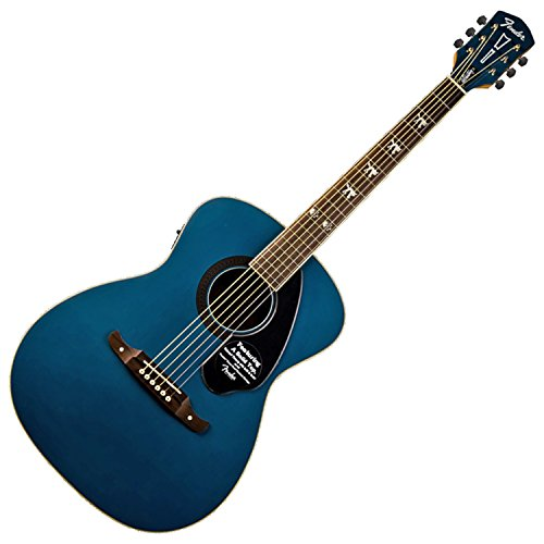 Fender 0971752027 Tim Armstrong Hellcat Sapphire Acoustic Electric Guitar (Armstrong Acoustic Tim)