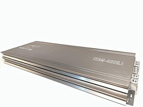 CT Sounds TEAM 4000.1 Class D 4500w RMS Competition Amplifier (Amplifier Monoblock 5000 Watts)
