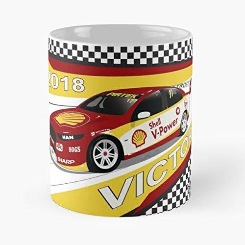 (Scott Mclaughlin V8 Supercar - Coffee Mugs Unique Ceramic Novelty Cup)