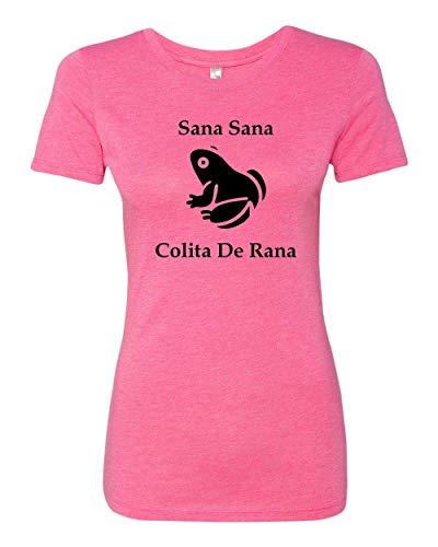 Sano Tee - Sana Sana Colita de Rana Funny Spanish T-shirt Ladies