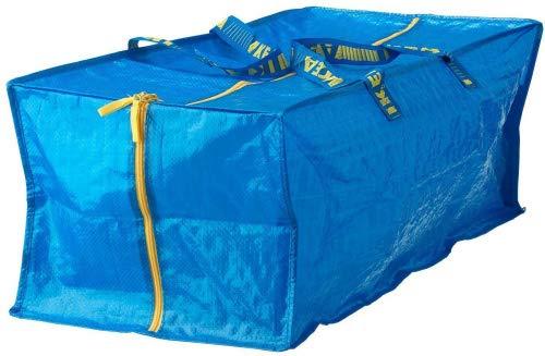 Ikea 901.491.48 Frakta Storage Bag, Blue, 4 Pack ()