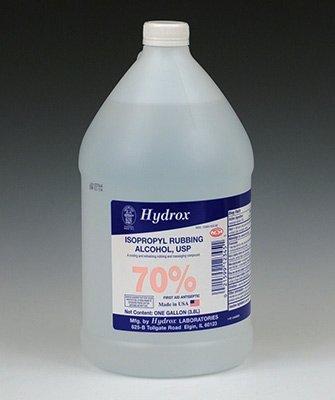70% Isopropyl Alcohol (1 gal.) (1 Bottle) - AB-266-6-71