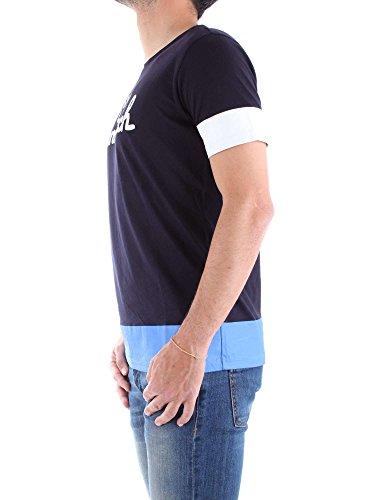 Penn Wytee0411 Pa shirt rich Uomo Woolrich lj05 T Blu 3195 AxwfAt