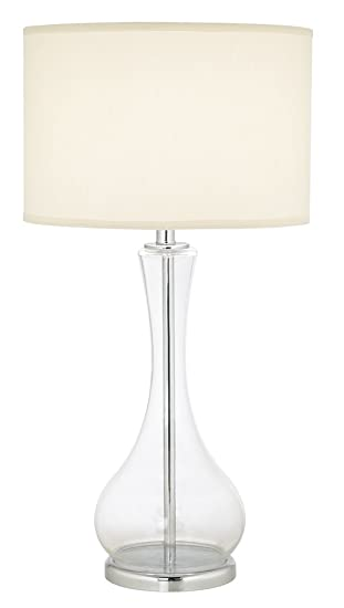 Pacific Coast Lighting 87 1667 29 The 007 1 Light Table Lamp Clear