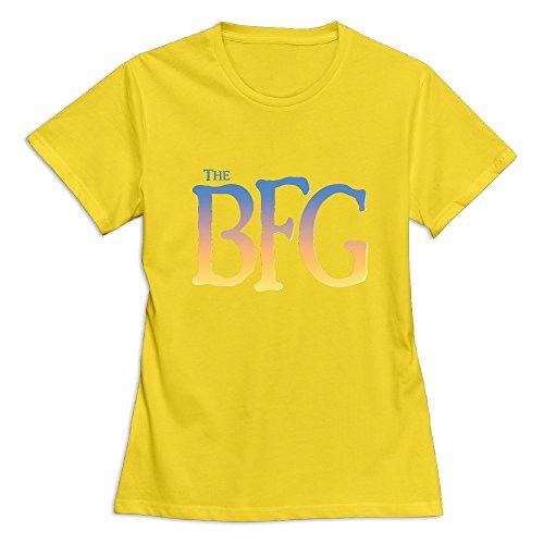 Women The BFG Short Sleeve T-Shirt Yellow US Size XXL -