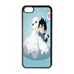 Big Hero Lovely IPhone 5C Cases Protective for Girls, Iphone 5c Cases for Girls [Black]