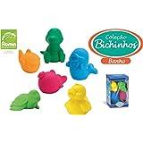 Brinquedo para Bebe Coleção Bichinhos Caixa com 06 Roma 8.5 cm