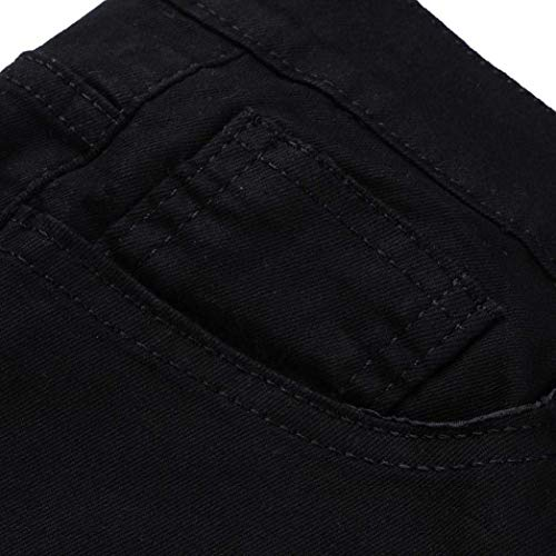 Distressed Uomo Frayed Long Ssig Fashion Jeans Biker Closure Pants Slim Workout C Fit Skinny Hrenjeans Estate Pantaloni PxpT8dP