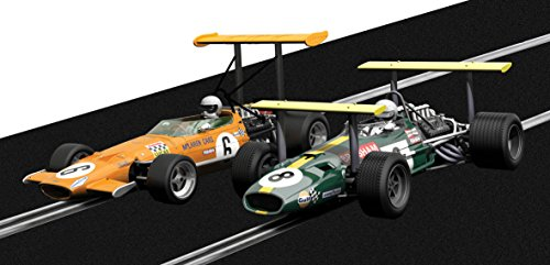 Scalextric - Sca3589a - Winged Legends - Brabham Bt26 & Mclaren M7c - Echelle 1/32