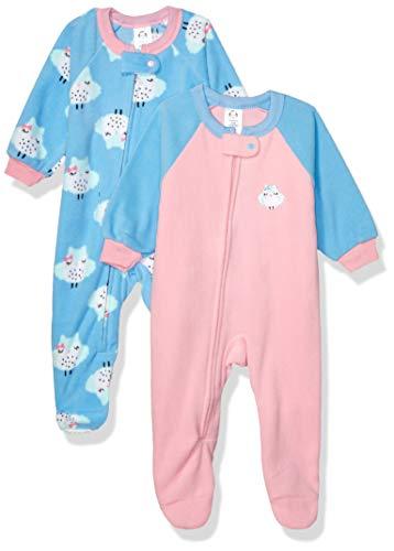 Gerber Baby Girls' 2-Pack Blanket Sleeper