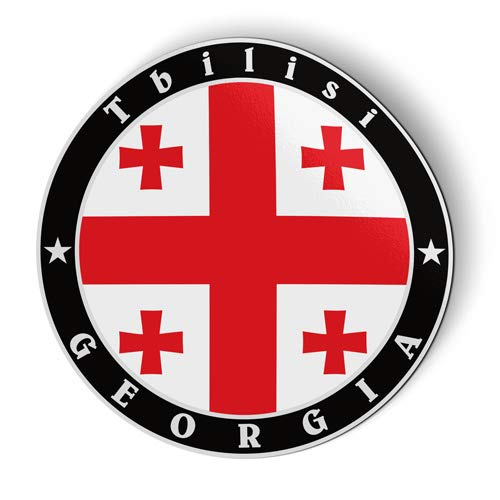 Stickers Georgia Flag (Georgia Flag - Flexible Magnet - Car Fridge Locker - 5