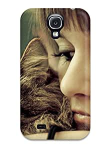 S4 Scratch Proof Protection Case Cover For Galaxy Hot Cat And Girl Phone Case
