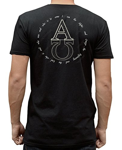 Alpha & Omega Mirror - Black - 2X-Large -T-Shirt