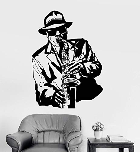 78x57cm,Wall Stickers for Bedroom, Applique Man Bar Nightclub Poster Design Background Bathroom -