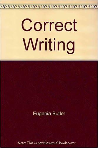 Correct Writing