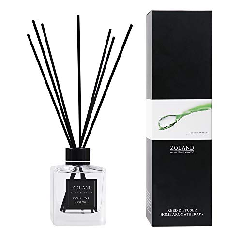 TIYOLE Reed Diffuser Sticks Sandalwood Diffuser Room Diffusers Stress Relief Aromatic (English pear & Freesia)