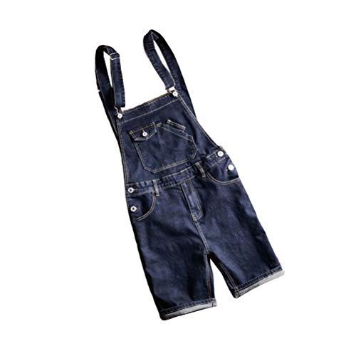 [해외]Tenflow 올인원 남성 뽀 빠이 바지 데님 작업 바지 바인더 멜 빵 반바지 5XL까지 cjf-7156 / Tenflow All-in-One Men`s Salopette Denim Overalls Tied Suspender Shorts up to 5XL cjf-7156