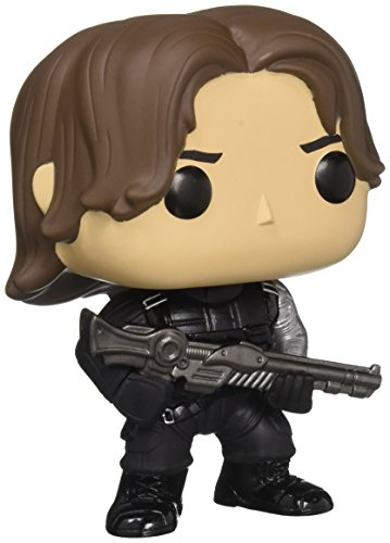 Funko POP Marvel Captain America 3 Civil War Action Figure - Winter Soldier (Funko Pop Captain America Marvel)
