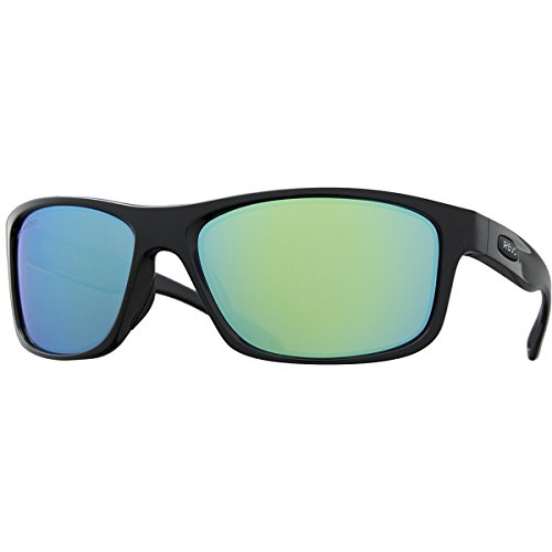 Revo Harness RE 4071 01 GN Polarized Wrap Sunglasses,Black,61 - Revo Harness