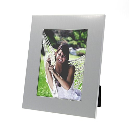 Newfavors Personalized Photo Frame with Engraving Holds 5x7 Picture