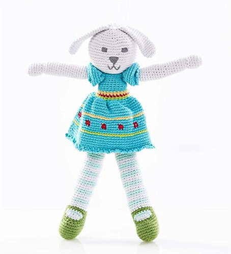 (Hand-Crocheted Bunny Dolls, in Girl)