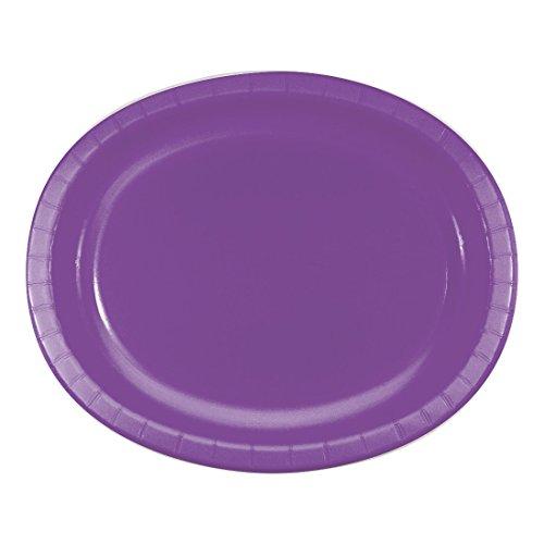 Creative Converting 318924 Platters Amethyst