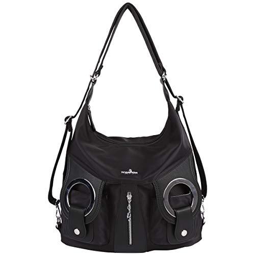 Black Satchel Handbag - 9
