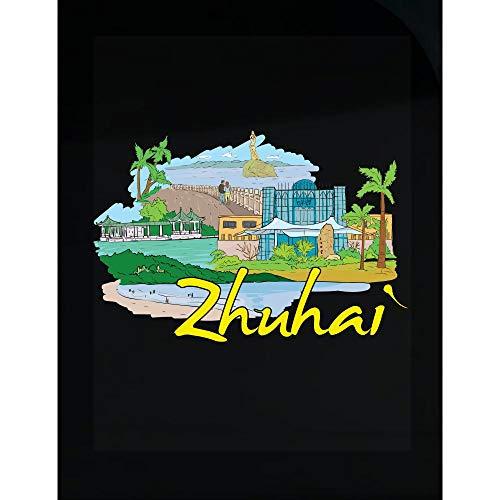 (Peyton Winks Zhuhai China - Beautiful Places Around The World - Transparent Sticker)