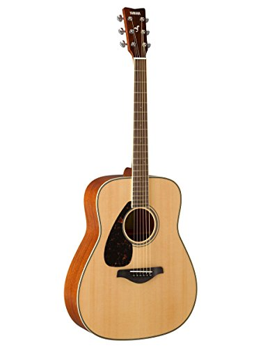 Yamaha FG820 Left-Handed Solid Top Acoustic Guitar for sale  Delivered anywhere in USA