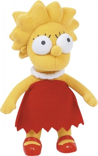 "The Simpsons - Merchandise - Plush Doll (Lisa Simpson) (Size: 12"" in height)"