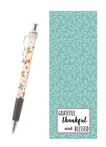 Bundle God Is Good Cafe Mug Never Leave Journal Pink Ink Pen with Bookmark