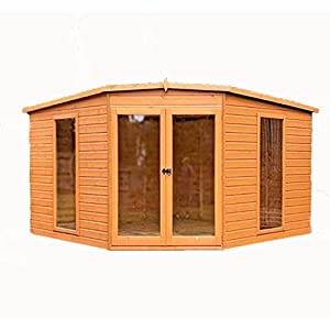 Barclay 10 x 10ft Contemprorary Corner Summer House