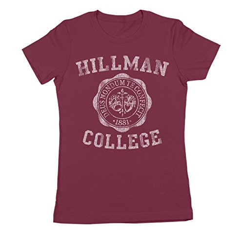 CP Clothing Hillman College University Emblem Womens Shirt XX-Large (College Clothing Store)