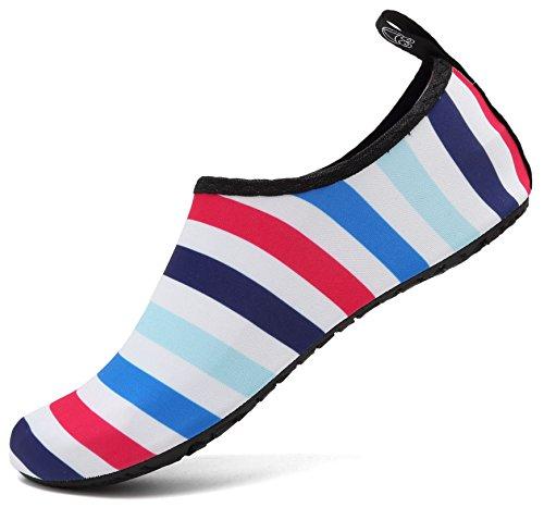 adituo Women's Men's Lightweight Athletic Water Shoes for Aerobics Sport Beach Pool Camp US 9.5-10.5 Women, 8.5-9 Men 40-41 ()