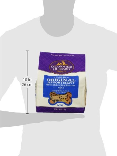 Large Product Image of Old Mother Hubbard Classic Crunchy Natural Dog Treats, Original Assortment Mini Biscuits, 3.8 (3 lb 13oz)-Pound Bag