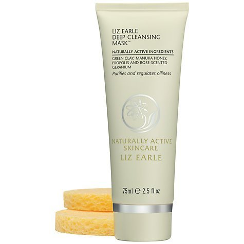 Liz Earle Deep Cleansing Mask™ Starter Kit, 75ml ** helps draw out impurities and excess oil /leave skin balanced, calm and clear**