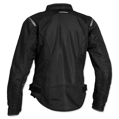 Firstgear Women's Contour Mesh Black Jacket, L by Firstgear (Image #2)