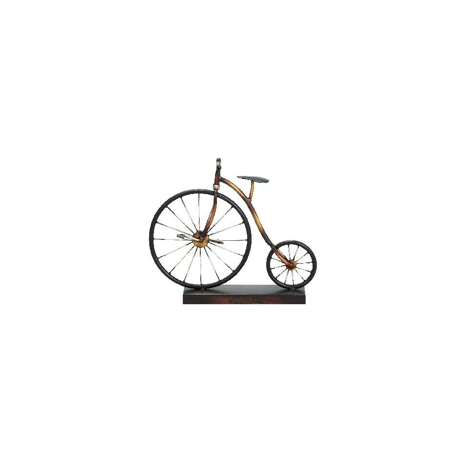 Metal Bicycle Table Decor 11H, 13W